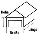 berechnung von baustoffen f r die garage baumaterial berechnen garagenbau garage selber bauen. Black Bedroom Furniture Sets. Home Design Ideas